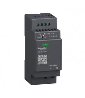 Phaseo, regulowany zasilacz impulsowy, 100...240 V AC, 12V 2.1 A, 1 fazowy, Modular, ABLM1A12021 Schneider Electric
