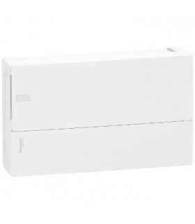 Obudowa natynkowa Mini Pragma IP40 MIP-1-18-NT-P drzwi białe 1 rząd 18 modułów/rząd, MIP12118 Schneider Electric