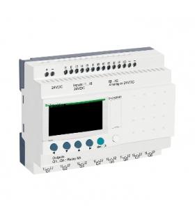 Przekaźnik programowalny Zelio Logic 12 wejść 8 wyjść 24VDC, SR2B201BD Schneider Electric