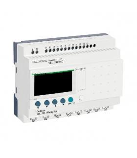 Przekaźnik programowalny Zelio Logic 12 wejść 8 wyjść 120VAC, SR2B201FU Schneider Electric