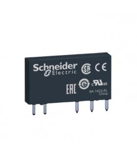 Zelio Relay Przekaźnik interfejsowy z płaskim wtykiem 48V DC, 6A, 1 styk C/O, RSL1AB4ED Schneider Electric