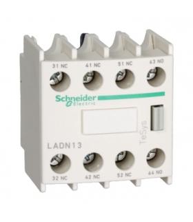 Blok styków pomocniczych wyprzedzających LC1 1NO 3NC zaciski skrzynkowe, LADN13 Schneider Electric
