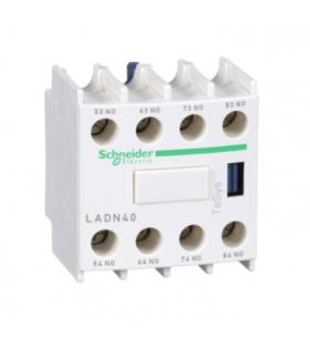 Blok styków pomocniczych wyprzedzających LC1 4NO zaciski skrzynkowe, LADN40 Schneider Electric
