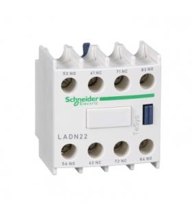 Blok styków pomocniczych wyprzedzających LC1 2NO 2NC zaciski skrzynkowe, LADN22 Schneider Electric