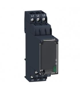 Zelio Control Przekaźnik kontroli 3 fazowy, 183 528V AC, styk 2C/O, RM22TG20 Schneider Electric