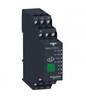NFC, 3-fazowy przekaźnik nadzorczy, 8 A, 2CO, wielofunkcyjny, 208… 480 V AC, RMNF22TB30 Schneider Electric