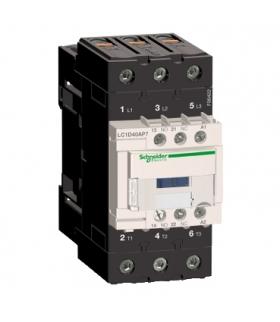Stycznik mocy TeSys D 40A 3P 1NO 1NC cewka 230VAC zaciski EVK skrzynkowe, LC1D40AP7 Schneider Electric