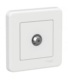 Leona Gniazdo SAT, biały Schneider LNA3700121