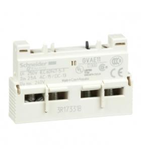Blok styków bezzwłocznych montaż przedni 1NC 1NO zaciski skrzynkowe, GVAE11 Schneider Electric