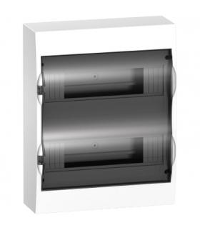 Obudowa natynkowa Easy9 IP40 EZ9E-2-12-NT-T drzwi transparentne 2 rzędy 12modułów/rząd, EZ9E212S2S Schneider Electric