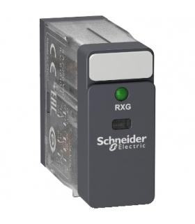 Zelio Relay Przekaźnik interfejsowy ze standardową obudową LED 2C/O 5A, 24V DC, RXG23BD Schneider Electric