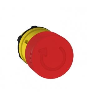 Harmony XB5 Głowka przycisku grzybkowego z mechnizmem zatrzaskowym Ø30 czerwona plastikowa, ZB5AS834 Schneider Electric