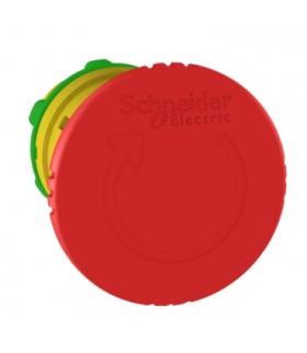 Harmony XB5 Głowka przycisku grzybkowego z mechnizmem zatrzaskowym Ø40 czerwona plastikowa, ZB5AS844 Schneider Electric