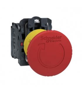 Harmony XB5 Przycisk stop awaryjny Ø40 czerwony plastikowy, XB5AS8442 Schneider Electric