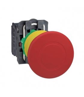 Harmony XB5 Przycisk stop awaryjny Ø40 czerwony plastikowy, XB5AS8445 Schneider Electric