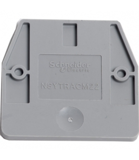 Złączki NSY, pokrywa końcowa do NSYTRV-2M, 1MM, NSYTRACM22 Schneider Electric