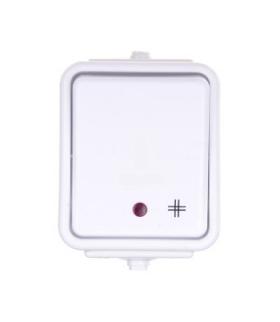 Cedar Łącznik krzyżowy z podświetleniem IP44 biały Schneider WNT700CS01