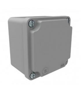Puszka aluminiowa 80mm x 80mm x 60mm IP67 F1.0243