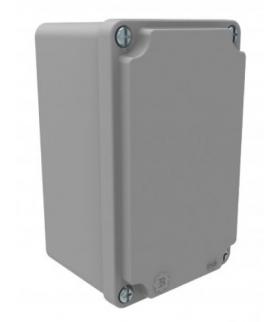Puszka aluminiowa 130mm x 80mm x 73mm IP67 F1.0246