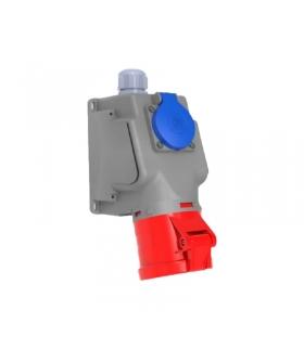 Gniazdo siłowe stałe kombi 32A 5p + 230V F3.0301