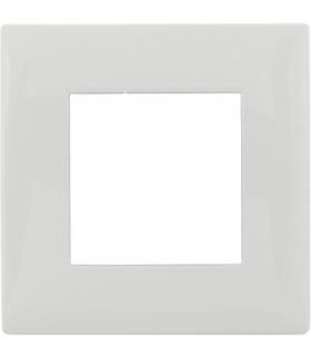 Ramka 1x Seria DANTE, BIAŁY 450481