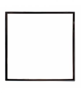 Zewnętrzna ramka dekoracyjna pojedyncza Seria DANTE, CHROM 4570200
