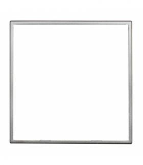 Zewnętrzna ramka dekoracyjna pojedyncza Seria DANTE, INOX 4541200