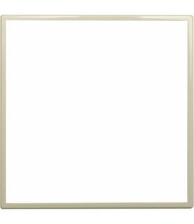 Zewnętrzna ramka dekoracyjna pojedyncza Seria DANTE, KREM 4503200