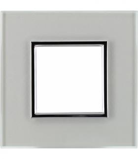 Ramka 1x Seria DANTE, CREATIVE GLASS SUPER WHITE 4501181
