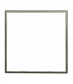 Zewnętrzna ramka dekoracyjna pojedyncza Seria DANTE, SATYNA 4550200