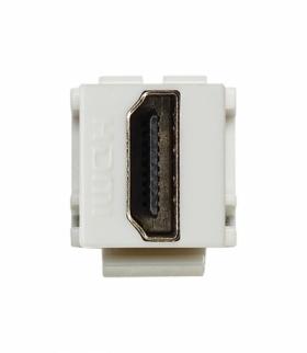 Moduł Keystone - gniazdo multimedialne HDMI, Seria KOS 45, BIAŁY 500450