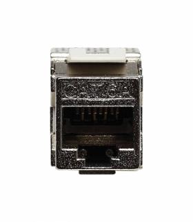 Keystone Jack - gniazdo komputerowe pojedyncze Seria KOS 45, METAL 504005