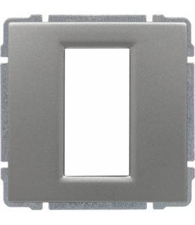 Uchwyt do instalacji modułów 45x22,5 z redukcją ramki Seria KOS 66, ALUMINIUM 664055