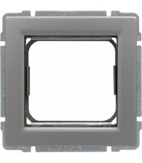 Uchwyt do instalacji modułów 45x45 z redukcją ramki Seria KOS 66, ALUMINIUM 664045