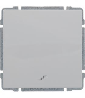 Łącznik schodowy z klawiszem, bez ramki, Seria KOS 66, BIAŁY 660416