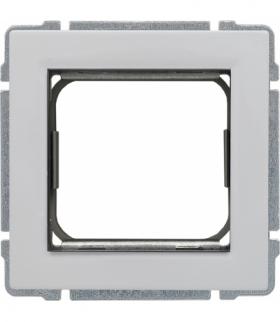Uchwyt do instalacji modułów 45x45 z redukcją ramki Seria KOS 66, BIAŁY 660445