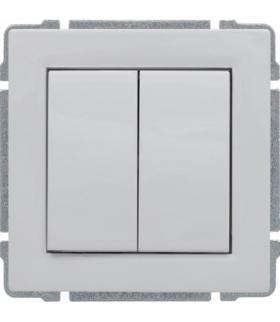 Zaślepka modułowa (2szt. 22,5mmx45mm) Seria KOS 66, BIAŁY 660480