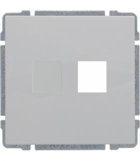 Pokrywa gniazda komputerowego do Keystone 22,5x45mm Seria KOS 66, BIAŁY 6604801