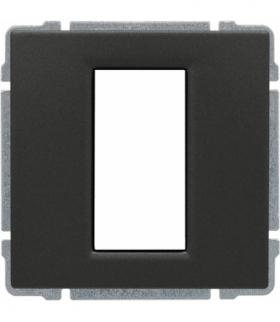 Uchwyt do instalacji modułów 45x22,5 z redukcją ramki Seria KOS 66, GRAFIT 666055