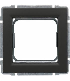 Uchwyt do instalacji modułów 45x45 z redukcją ramki Seria KOS 66, GRAFIT 666045
