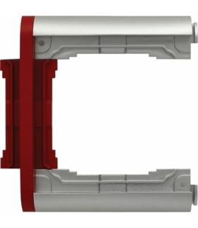 Element N-krotny ramki składanej Seria KOS66 PLUS, ALUMINUM + CZERWONY 66401079