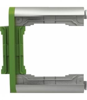 Element N-krotny ramki składanej Seria KOS66 PLUS, ALUMINUM + LIMONKA 66400779