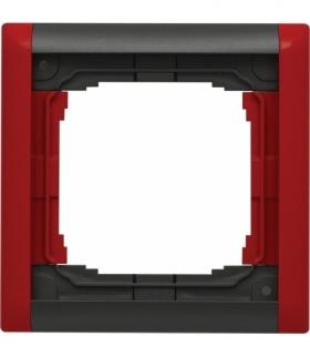 Ramka składana kolorowa x1 Seria KOS66 PLUS, GRAFIT + CZERWONY 66601081