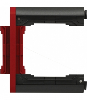 Element N-krotny ramki składanej Seria KOS66 PLUS, GRAFIT + CZERWONY 66601079