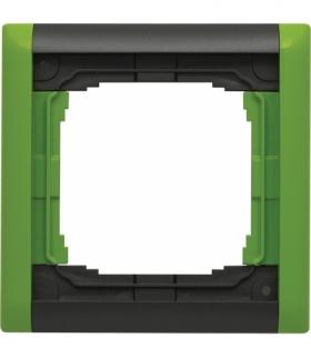 Ramka składana kolorowa x1 Seria KOS66 PLUS, GRAFIT + LIMONKA 66600781