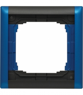 Ramka składana kolorowa x1 Seria KOS66 PLUS, GRAFIT + NIEBIESKI 66600681
