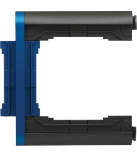 Element N-krotny ramki składanej Seria KOS66 PLUS, GRAFIT + NIEBIESKI 66600679