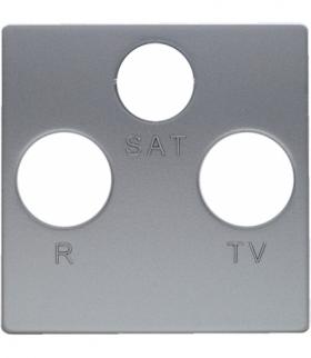 Pokrywa do gniazda RTV-SAT Seria VENA, ALUMINUM 5140076