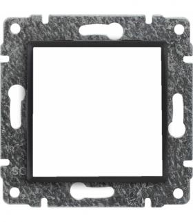Uchwyt do instalacji modułów 45x45 z redukcją ramki Seria VENA, ANTRACYT 516145