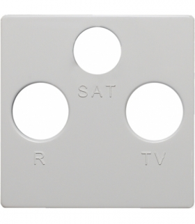 Pokrywa do gniazda RTV-SAT Seria VENA, BIAŁY 5104076